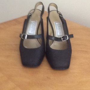 Versus by Versace black  shoes Made in Italy.
